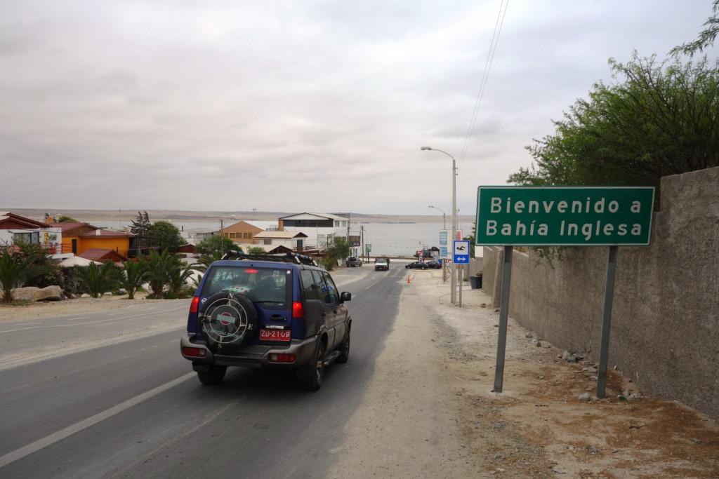 Arrivée - Bahia Inglesa