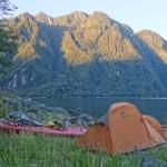 Campement, Fjord de Quintupeu