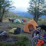 Campement, sud de Cochrane