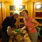 repas à l'auberge, Ushuaia