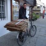 Emballage des vélo, Ushuaia