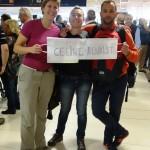 Arrivée de Céline & Benoist, Buenos Aires